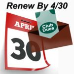 Don't Forget To Renew Your Membership!